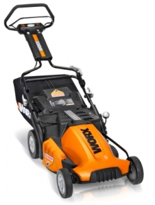 Worx 19 inch cordless mower