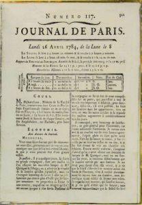 Franklin-Benjamin-Journal 1784