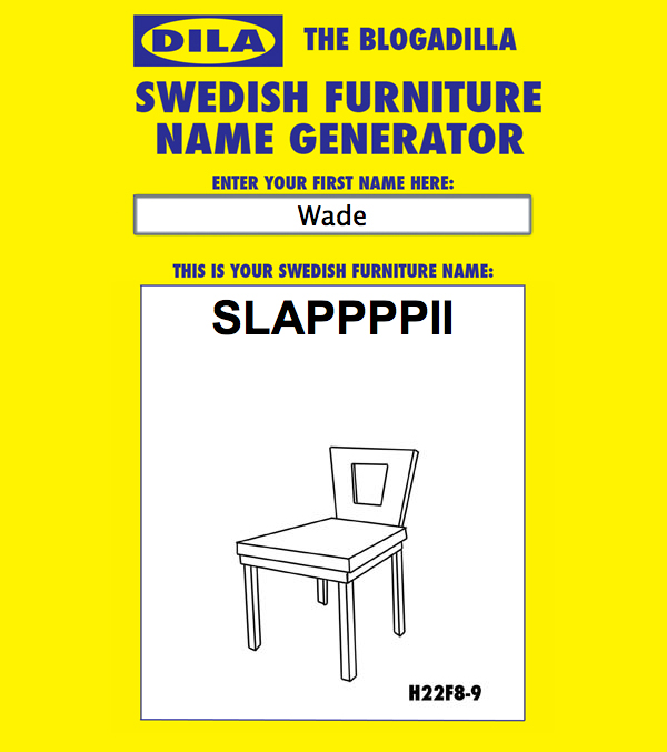 ... Product Made By The Swedish Furniture Company Whose Corporate Colors  Are Yellow And Blue? Find Out Here, If Youu0027d Like Five Seconds Of Friday  Afternoon ...