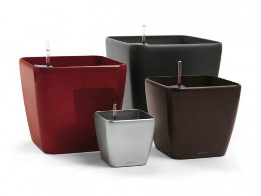 Modern planters that match my house and don t hurt my wallet modular 4 - Lechuza self watering planter ...