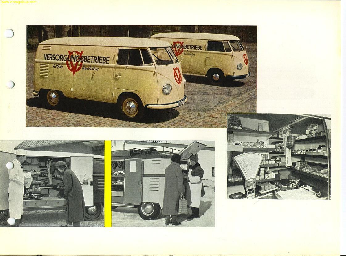 The Vintage VW Van, Presented in Dealer Book Glory. | Modular 4