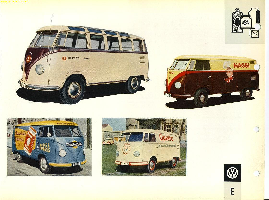 The Vintage VW Van,