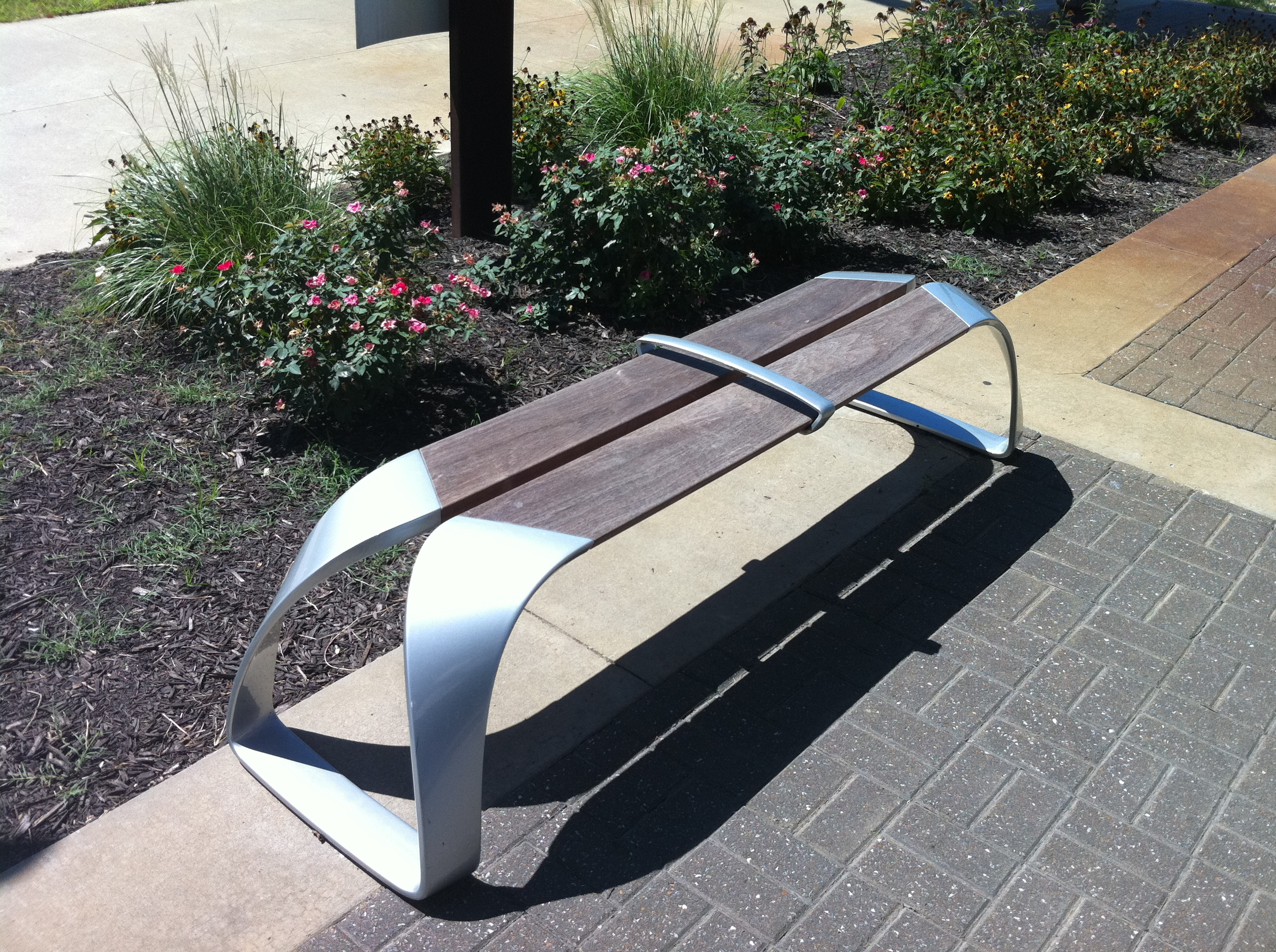 "LandscapeForms ""Rest"" Bench Stole My Heart."