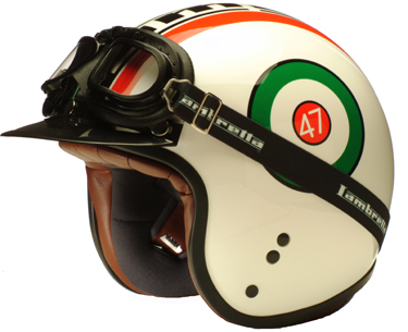 The Helmets Are A Cafe Racer Style Shell Featuring Classic Open Faced Design From Early Seventies They Painted Lacquered And Finished In Italy
