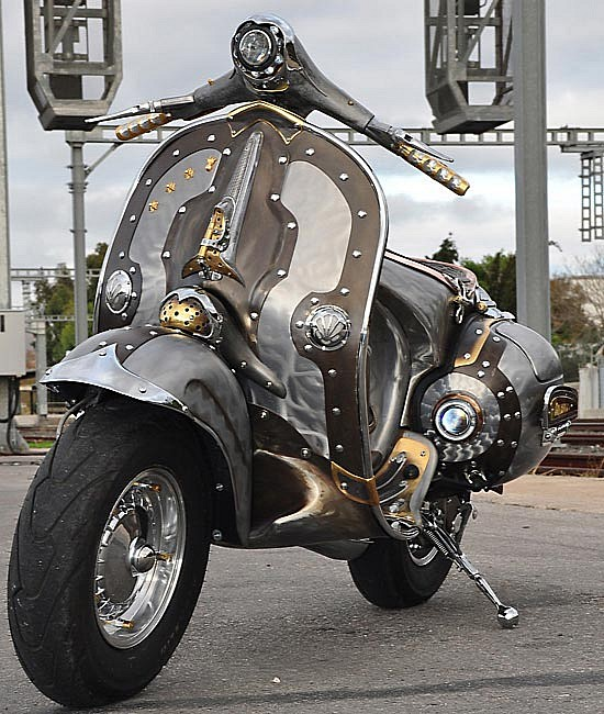 The Guardian A Steampunk Vespa Modular 4