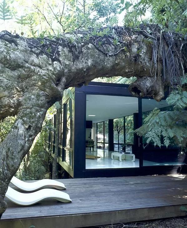 A Modern Tree House By Chris Tate Modular 4