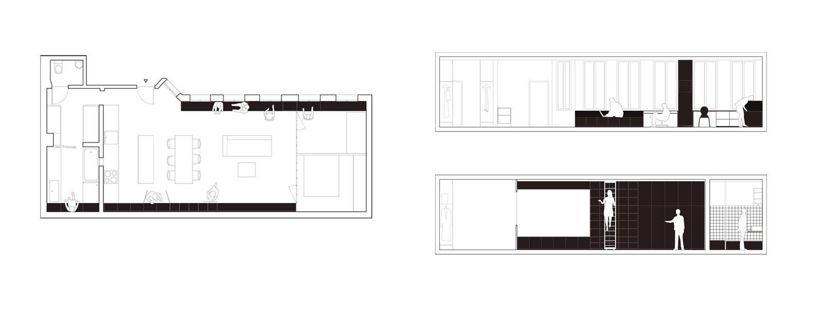 Paris kabbinet from septembre modular 4 for Atelier de cuisine paris