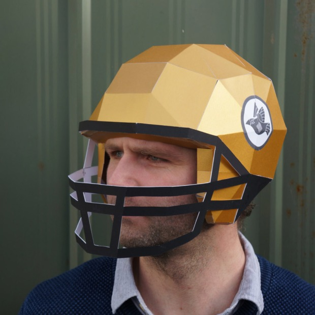 American-Football-Helmet
