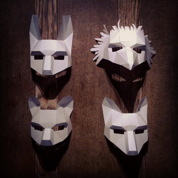 animal-mask-set