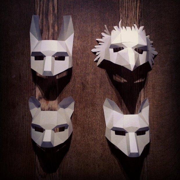 animal-mask-set