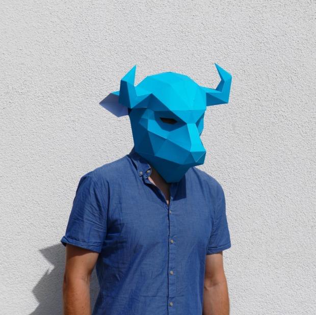 Bison-Mask