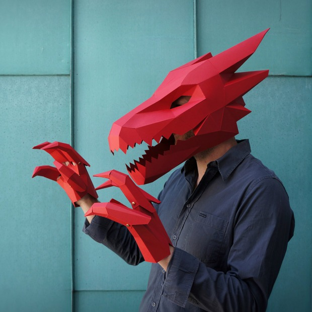 Dragon-Mask