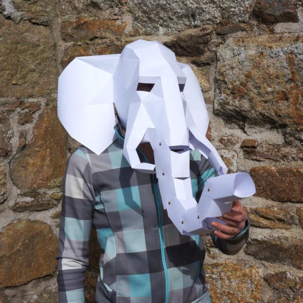 Elephant-Mask