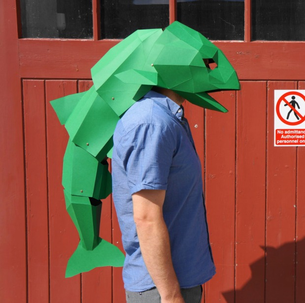 Fish-Head-Mask