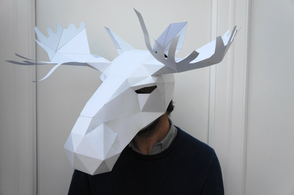 Just In Time For Halloween Low Poly Animal Masks